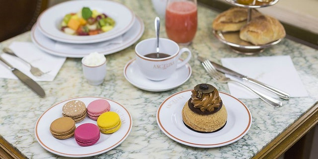French teahouse and pastry shop Angelina opens first location in the U.S. near Bryant Park in New York City. (Angelina Paris).