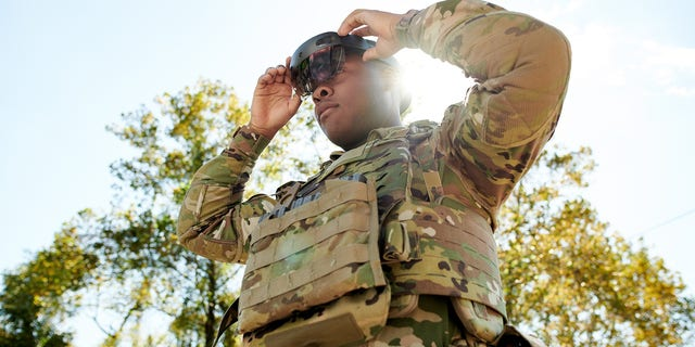 Integrated Visual Augmentation System (IVAS), soldier-worn combat goggles