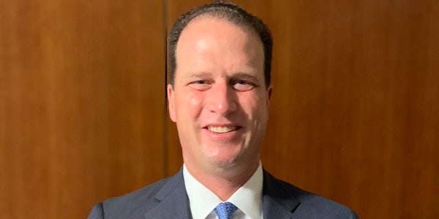 August Pfluger is the newly elected congressman from Texas's 11th congressional district. (Marisa Schultz/Fox News)
