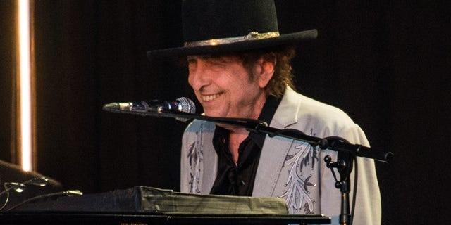 Bob Dylan performing in 2019.
