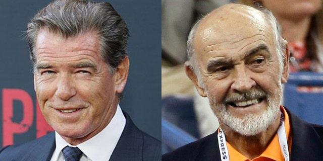Pierce Brosnan paid tribute to fellow James Bond star Sean Connery.