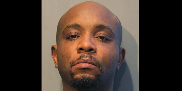 This undated photo provided by the Chicago Police Department shows James Dixon, who has been charged with murder after a fatal fight Friday, Nov. 27, 2020, that began when he put his hands in Thanksgiving leftovers, authorities said. (Chicago Police Department via AP)