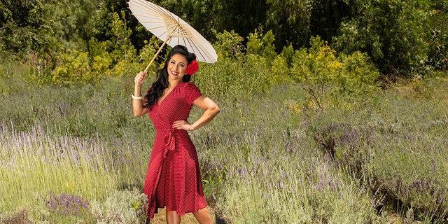 """""""I am involved with my community and love to give back as much as possible. Volunteering for my Veterans has been a privilege and an honor to be able to give back. I love that Pin-Ups for Vets reminds us female Veterans that we're not forgotten, and what an honor it was to have served our country and fight for our freedom. Volunteering for my country didn't end after 4 years of serving. I'll keep volunteering, and being able to put a smile on Veterans faces makes it even more special."""" - Claudia S., Navy, 4 years"""