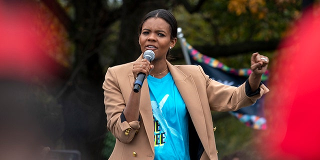 Conservative commentator and political activist Candace Owens announced Thursday that she plans to sue Facebook Fact-checkers over perceived censorship claims. (Associated Press)