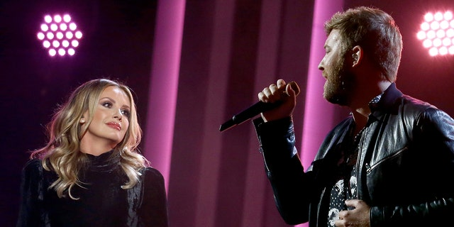 Carly Pearce and Charles Kelley of Lady A pre-recorded their CMA Awards performance after Lee Brice tested positive for coronavirus. (Photo by Terry Wyatt/Getty Images for CMA)