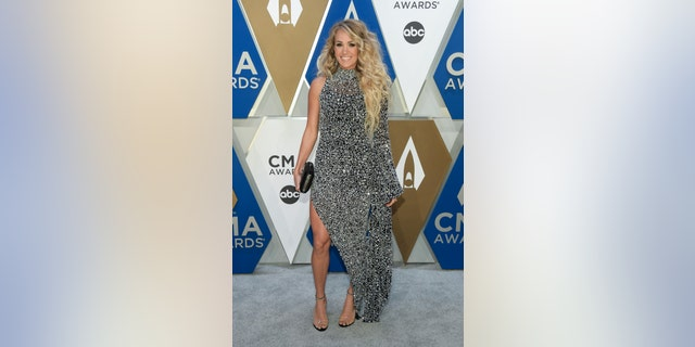 Carrie Underwood at the 54th annual CMA Awards. (Photo by Jason Kempin/Getty Images for CMA)
