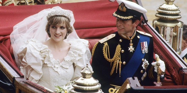 Prince Charles, Prince of Wales and Diana, Princess of Wales, pictured here on their wedding day on July 29, 1981 in London, England. They divorced in 1996. (Photo by Anwar Hussein/WireImage)