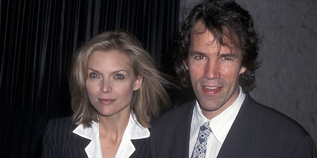 Michelle Pfeiffer and David E. Kelley married in 1993. (Photo by Ron Galella, Ltd./Ron Galella Collection via Getty Images)
