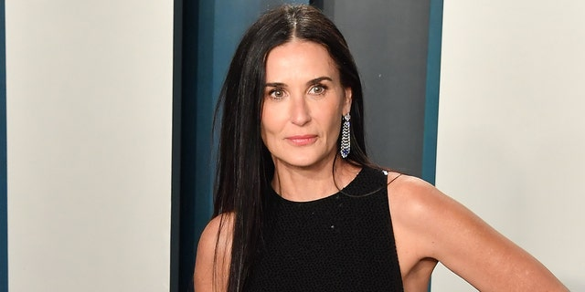 Demi Moore turned 58 on Wednesday. (Photo by Allen Berezovsky/Getty Images)