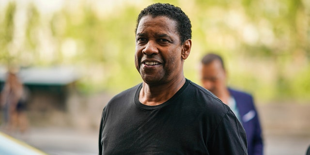 Denzel Washington said he doesn't like critics of law enforcement.