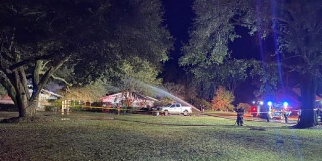 A home nurse died Monday trying to save her 71-year-oldparaplegic patient from a fire.