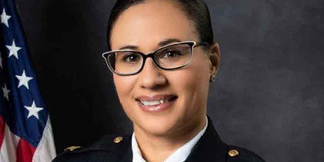 Angela Greene was fired Monday as the police chief of Portsmouth, 의지.