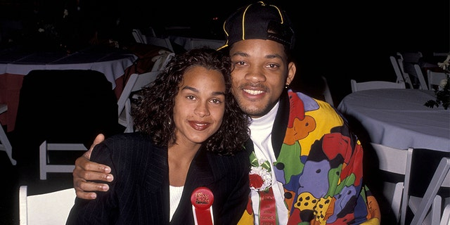 Will Smith and Sheree Zampino attend the 60th Annual Hollywood Christmas Parade on Dec. 1, 1991, at KTLA Studios in Hollywood, 칼리프.