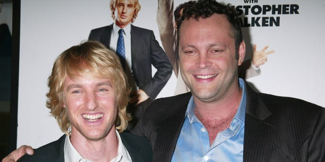 Owen Wilson and Vince Vaughn, yes, were probably doing another 'Wedding Crashers'.  (Photo by Gregory Pace / FilmMagic)