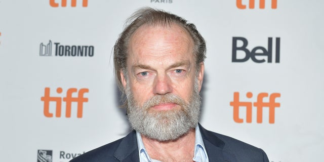 Actor Hugo Weaving portrayed V. (Photo by Rodin Eckenroth/Getty Images)