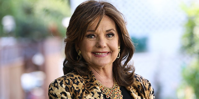 """Actress Dawn Wells visits Hallmark Channel's """"Home & Family"""" at Universal Studios Hollywood on Sept. 30, 2019, in Universal City, Calif."""