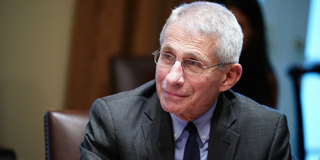 "Fauci said he looks forward to going ""to a restaurant or a bar"" when the pandemic is over."