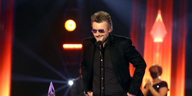 Eric Church won the 2020 CMA Award for entertainer of the year.