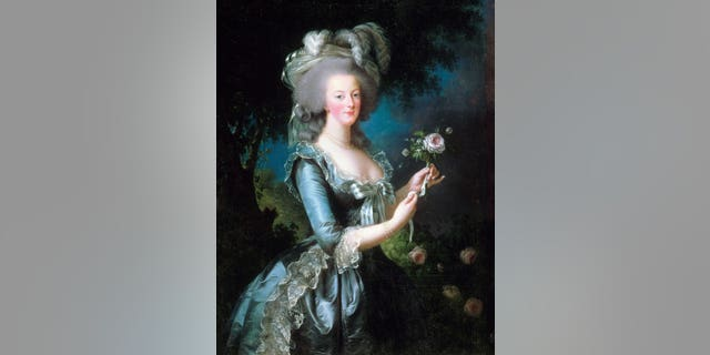 A portrait of Marie-Antoinette by Vigée-Le Brun, dated 1783.
