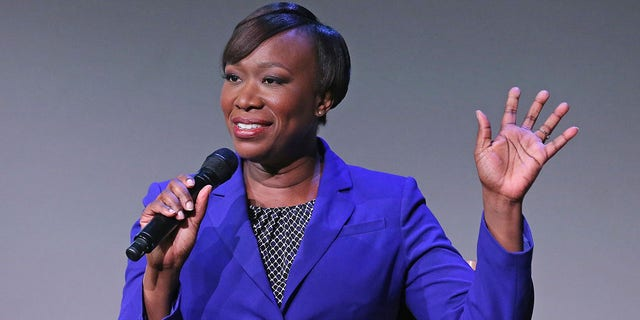 "NEW YORK, NY - FEBRUARY 09: Journalist Joy Reid speaks during the Apple Store Soho Presents: Apple Store Soho Presents:Meet the Creator: John Ridley, ""American Crime"" at the Apple Store Soho on February 9, 2015 in New York City. (Photo by J. Countess/Getty Images)"