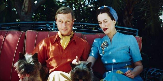 Edward VIII and Wallis Simpson.