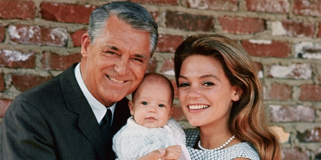 Cary Grant and Dyan Cannon welcomed a daughter named Jennifer in 1966.
