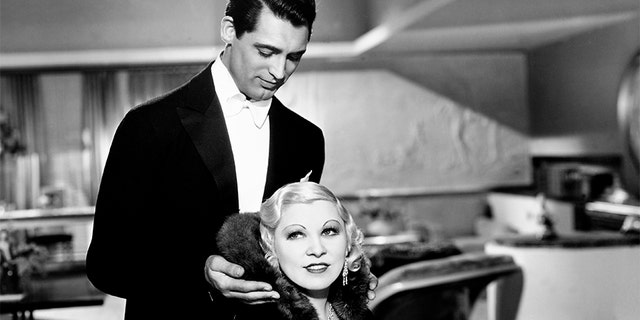Actress Mae West helped boost Cary Grant's profile in Hollywood.