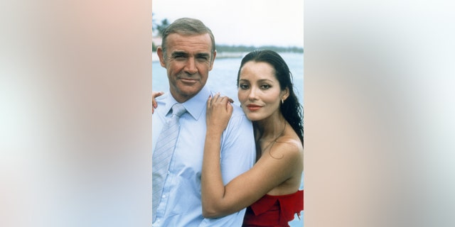 Actress Barbara Carrera says she developed a friendship with Sean Connery on the set of 'Never Say Never Again.'