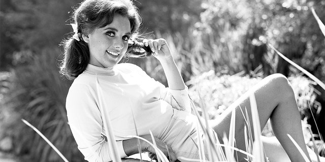 """Dawn Wells portrays Mary Ann Summers in the CBS television program """"Gilligan's Island."""""""
