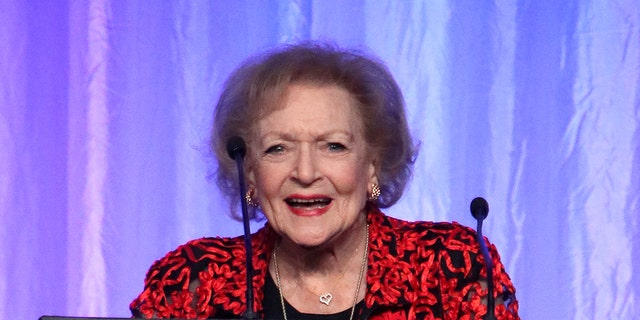 In 2019, Alex Trebek jokingly 'nominated' actress Betty White as a 'Jeopardy!' replacement. (Photo by David Livingston/Getty Images)