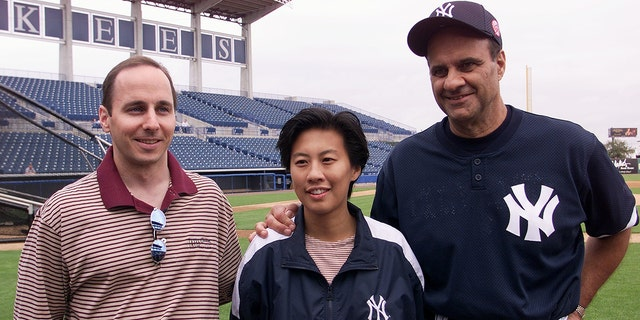 Kim Ng worked for the Yankees during the team's World Series runs. (Photo by Linda Cataffo/NY Daily News Archive via Getty Images)