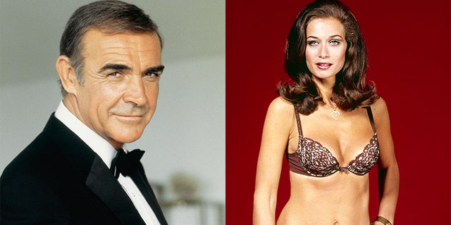 Sean Connery and Valerie Leon worked together in 1983's 'Never Say Never Again.'