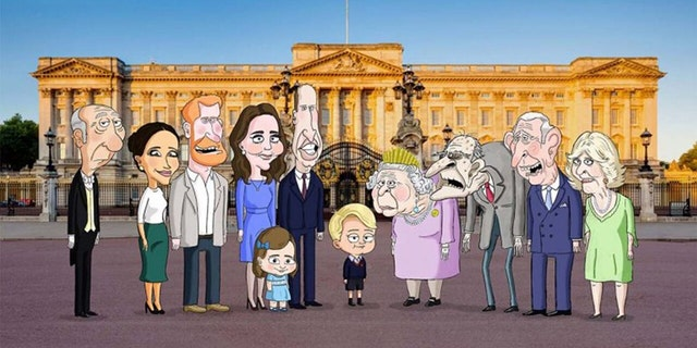 'The Prince' will follow 7-year-old Prince George as he navigates royal life.  (HBO Max)