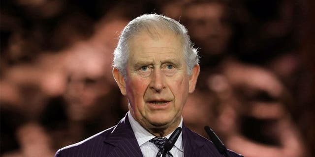 Prince Charles, the heir to the British throne, will lead the 15-member procession.