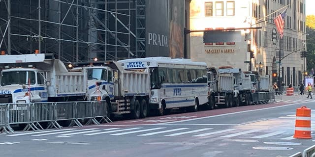 New York City's Fifth Avenue, in the area of Trump Tower, Nov. 4, 2020 (Fox News)