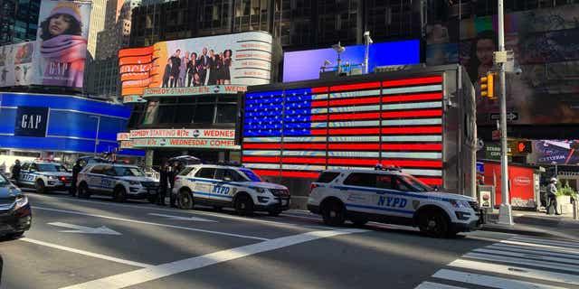 New York City's Times Square on Nov. 4, 2020 (Fox News)