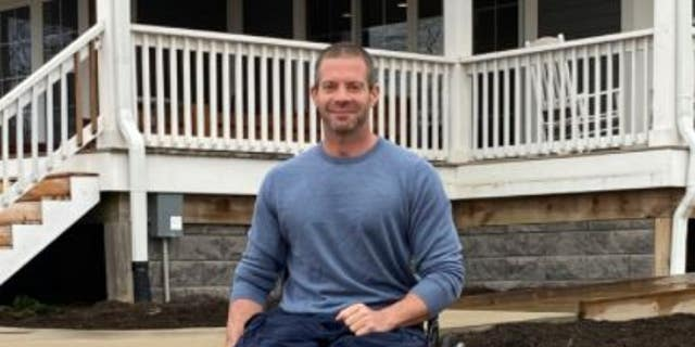Josh Bleill lost both of his legs while serving in Iraq in 2006.