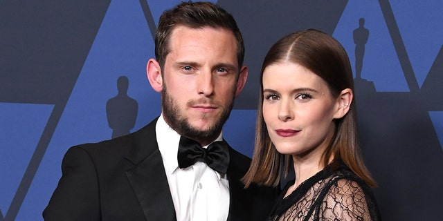 Kate Mara (right) and her current husband Jamie Bell (left) starred in