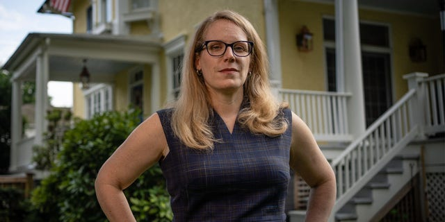 Jen O'Malley Dillon is the Biden Campaign Manager. (photo by Andre Chung for The Washington Post via Getty Images)