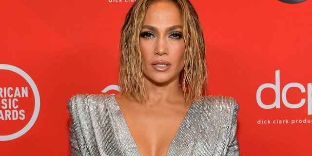 Jennifer Lopez bared all for the cover art of her newest single 'In The Morning.'
