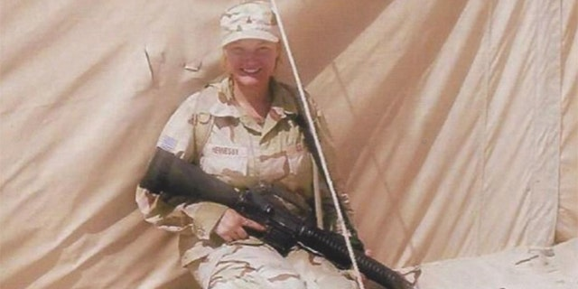 """""""I joined the Army straight out of high school in 2003, shortly after US forces invaded Iraq. My first, and favorite duty station after basic training and AIT, was Camp Kyle, Korea where I worked in the Motor Pool as a 92A. We transferred to Hunter Army Airfield, GA to train for our deployment. We deployed to Mosul, Iraq in 2005. In Iraq, I did logistic patrols (convoys) as a driver with my unit. About six months into deployment, I was attached to the 172nd Stryker Brigade to conduct raids in Mosul and Fallujah. I searched females and children, as well as ensuring fellow soldiers were safe to complete their mission, capturing suspects. After Iraq, I went to Fort Irwin to finish my time in the service"""" - Jessica, Army, 4 years"""
