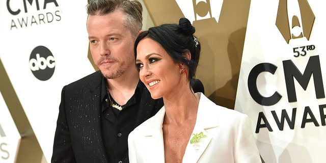 Jason Isbell says he and Amanda Shires are returning their memberships to the Country Music Association after the organization's 2020 awards show did not pay tribute to late stars John Prine, Jerry Jeff Walker and Billy Joe Shaver. (Photo by John Shearer/WireImage)