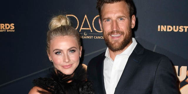 Julianne Hough recently filed for divorce from Brooks Laich. (盖蒂图片社)