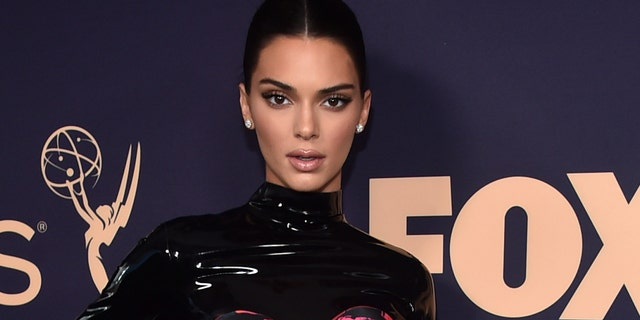 Kendall Jenner has been taken online after holding a large birthday party amid the ongoing coronavirus pandemic.  (Photo by Alberto E. Rodriguez / Getty Images)