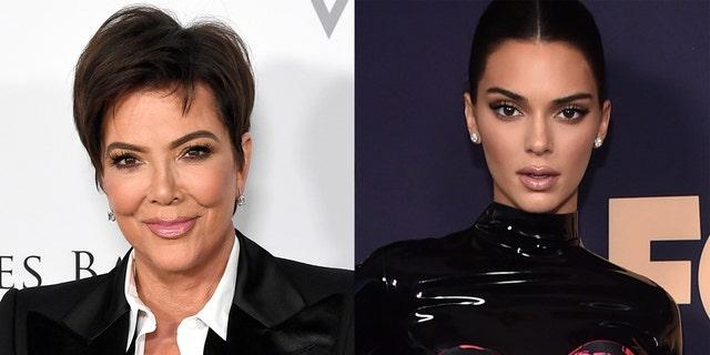 Kris Jenner spurred pregnancy rumors about Kendall Jenner on Thursday.