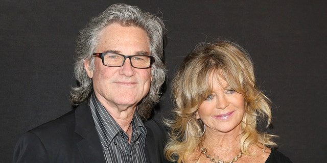 Kurt Russell (left) and Goldie Hawn (right). (Photo by Kurt Krieger/Corbis via Getty Images)