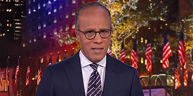 """Lester Holt feels """"the idea that we should always give two sides equal weight and merit does not reflect the world we find ourselves in."""""""