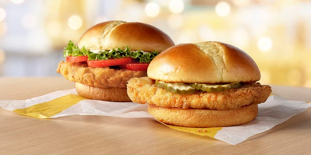 In addition to the standard and deluxe versions of McDonald's Crispy Chicken Sandwich, the chain will reportedly offer a spicy version.