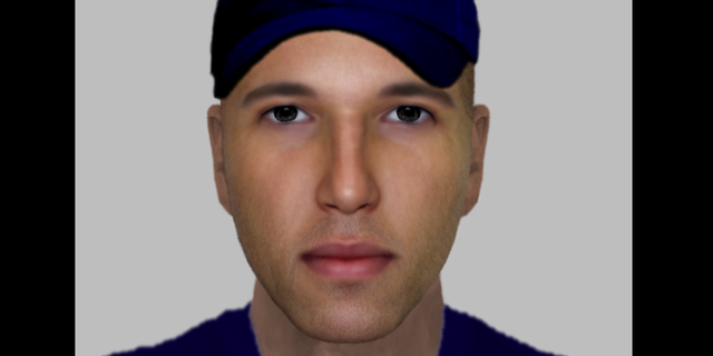 Drawing of suspect in July attack on pregnant woman (Metropolitan Police)