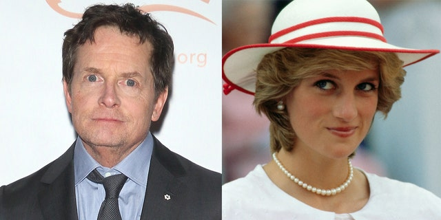 Michael J. Fox reflects on sitting next to Princess Diana at 'Back to the Future' premiere